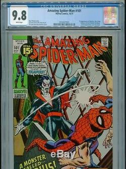 1971 Marvel The Amazing Spider-man #101 1st Appearance Morbius Cgc 9.8 White
