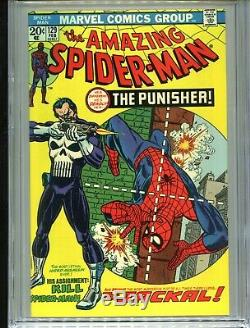 1974 Marvel The Amazing Spider-man #129 1st Appearance Punisher Cgc 9.2 White
