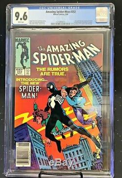 1984 Marvel Comics Amazing Spider-Man #252 CGC 9.6 White Pages Newstand