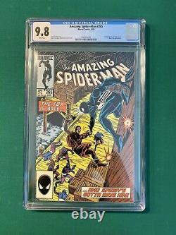 1985 AMAZING SPIDER-MAN #265 CGC 9.8 FIRST APPEARANCE OF SILVER SABLE White Page