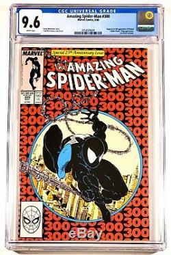 1988 Marvel Comics Amazing Spider-man #300 Cgc 9.6 White 1st Venom Beautiful Key
