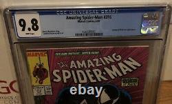 1989 MARVEL AMAZING SPIDER-MAN #316 1ST VENOM COVER TODD McFARLANE CGC 9.8 WHITE