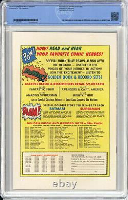 AMAZING SPIDER-MAN #1 CBCS NM/M 9.8 White Pages 1966 KEY HIGHEST CGC CENSUS