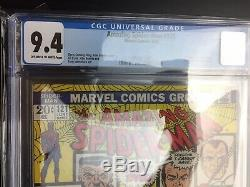 AMAZING SPIDER-MAN #121 Death of Gwen Stacy CGC 9.4 Off white to white pages