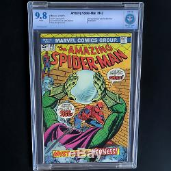 AMAZING SPIDER-MAN #142 (1975) CBCS 9.8 WHITE PGs ONLY 21 IN CGC CENSUS