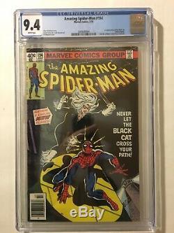 AMAZING SPIDER-MAN #194 NM CGC 9.4 Newsstand WHITE 1st BLACK CAT FELICIA HARDY