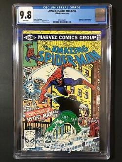 AMAZING SPIDER-MAN #212 CGC 9.8 Mint White Pages 1st App Hydro Man