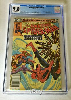 AMAZING SPIDER-MAN #239 CGC 9.8! 1st Spider-Man vs. Hobgoblin battle White pages