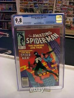AMAZING SPIDER-MAN #252 (Newsstand Edition) CGC Graded 9.8! White Pages