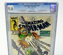 AMAZING SPIDER-MAN #298 1st Todd McFarlane Rare Newsstand CGC 9.6 WHITE 1988