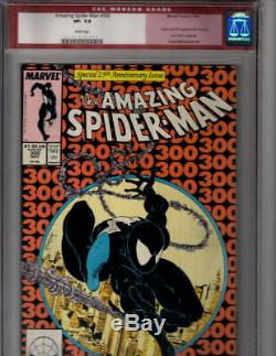 AMAZING SPIDER-MAN #300 CGC 7.5, white pages, sealed and certified