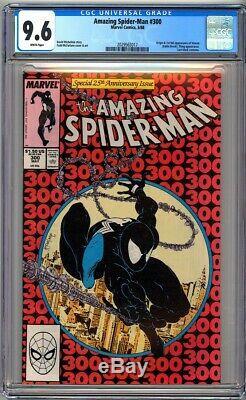 AMAZING SPIDER-MAN #300 CGC 9.6 WHITE PAGES NM+ First VENOM Eddie Brock