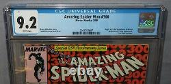 AMAZING SPIDER-MAN #300 (Venom 1st full app) CGC 9.2 NM- White Pages Marvel 1988