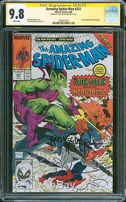 AMAZING SPIDER-MAN #312 CGC 9.8 White Pages SS Todd McFarlane