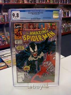 AMAZING SPIDER-MAN #332 (Marvel Comics, 1990) CGC 9.8 VENOM White Pages