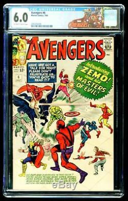 AVENGERS #11 CGC 5.5 OFF WHITE PAGES Early SPIDER-MAN & KANG App CUSTOM LABEL