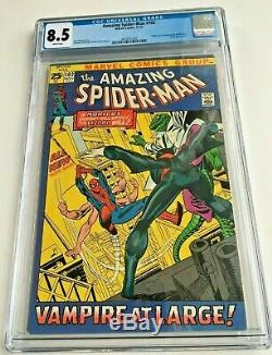 Amazing Spider-Man 102 (CGC 8.5) WHITE PAGES Origin Morbius Upcoming Movie soon