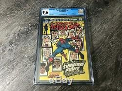 Amazing Spider-Man 121 CGC 9.6 White Pages Death of Gwen Stacey