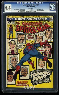 Amazing Spider-Man #121 CGC NM 9.4 White Pages Death of Gwen Stacy