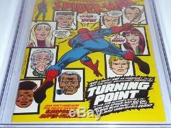 Amazing Spider-Man #121 CGC Universal Grade Comic 9.2 White Death Gwen Stacy