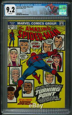 Amazing Spider-Man #121 Death of Gwen Stacy CGC 9.2 + White pages