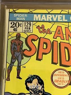 Amazing Spider-Man #129 6.0 1974 1st Punisher! OW- White Pages Never Clean/Press