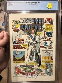 Amazing Spider-Man #129 CGC 8.5 WHITE page! 1st appearance of The Punisher