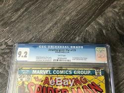 Amazing Spider-Man #129 CGC 9.2 Marvel 1974 1st App Punisher White Pages