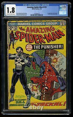 Amazing Spider-Man #129 CGC GD- 1.8 Off White to White 1st Punisher