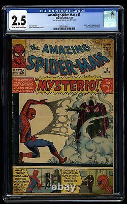 Amazing Spider-Man #13 CGC GD+ 2.5 Cream To Off White 1st Mysterio
