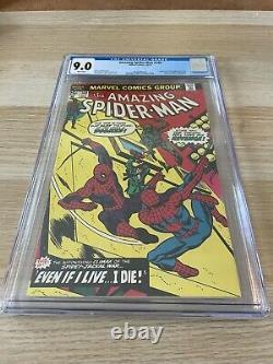 Amazing Spider-Man 149 CGC 9.0 WHITE