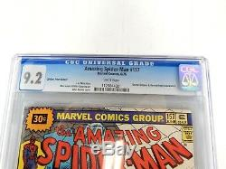 Amazing Spider-Man 157 CGC 9.2 30 Cent Price Variant Doctor Octopus WHITE Pages