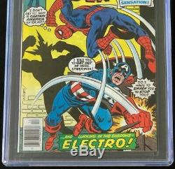 Amazing Spider-Man #187 (1978) CGC 9.8 White Pgs ONLY 60 in GRADE! Marvel