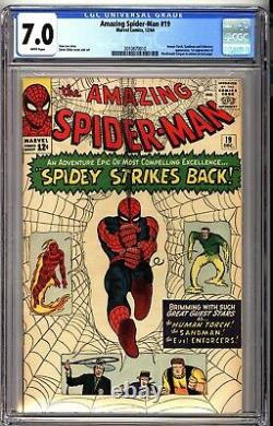Amazing Spider-Man 19 CGC 7.0 White Pages