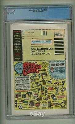 Amazing Spider-Man 194 (CGC 8.0) White pages 1st app Black Cat! 1979 (c# 24022)