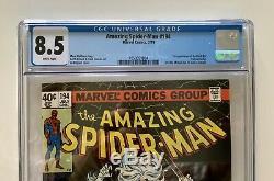 Amazing Spider-Man #194 CGC 8.5 White Pages (Marvel, 1979) 1st Black Cat