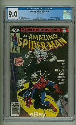 Amazing Spider-Man 194 (CGC 9.0) White pages 1st app. Black Cat 1979 (c#25028)