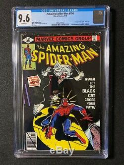 Amazing Spider-Man #194 CGC 9.6 (1979) 1st app of the Black Cat WHITE pages