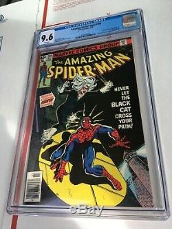 Amazing Spider-Man #194 CGC 9.6 1st appearance Black Cat Felicia Hardy white pg