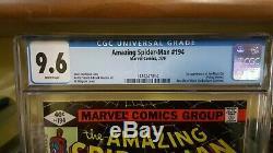 Amazing Spider-Man #194CGC 9.61st appearance Black CatWhite Pagesbronze key