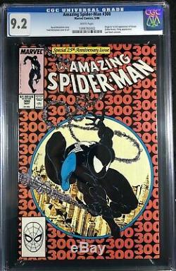 Amazing Spider-Man (1963) #300 CGC 9.2 white pages 1st app Venom (1099783002)