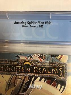 Amazing Spider-Man (1992) #361 (CGC 9.6 White Pages) 1st Appearance of Carnage