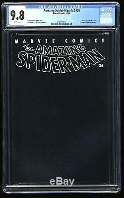 Amazing Spider-Man (1999) #36 CGC NM/M 9.8 White Pages