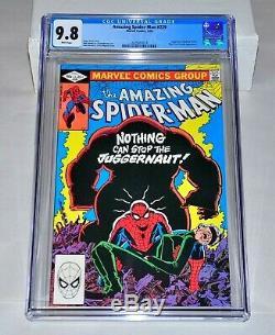 Amazing Spider-Man 229 CGC 9.8 White Pages Juggernaut 1982