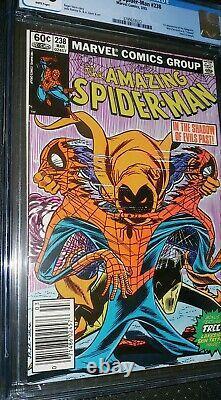 Amazing Spider-Man #238 CGC 9.0 White Pages Tatooz Intact 1st Hobgloblin