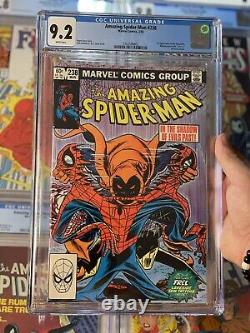 Amazing Spider-Man #238 CGC 9.2 WHITE PAGES Marvel 1983 1st Appearance Hobgoblin