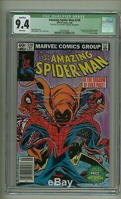 Amazing Spider-Man 238 (CGC 9.4 QUALIFIED) INC White p 1st Hobgoblin (c#25033)