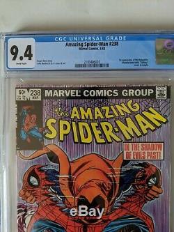Amazing Spider-Man #238 CGC 9.4 White Tattooz 1st Hobgoblin