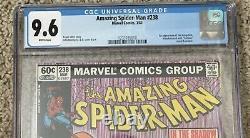 Amazing Spider-Man #238 CGC 9.6 1st Hobgoblin With TATTOOZ NEWSSTAND White Pages