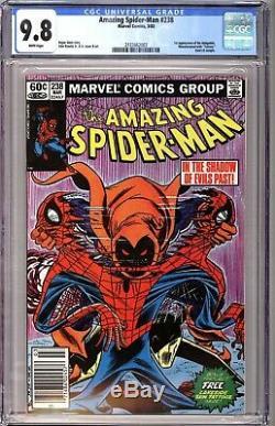 Amazing Spider-Man 238 CGC 9.8 White Newstand 1st Hobgoblin